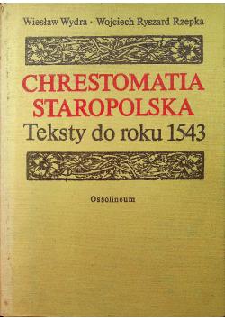 Chrestomatia staropolska