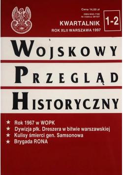 Wojskowy Przegląd Historyczny Nr 1 do 2