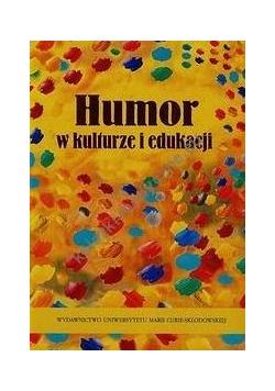 Humor w kulturze i edukacji