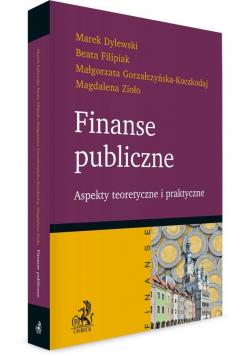 Finanse publiczne. Aspekty teoretyczne i...