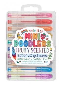 Długopisy żelowe mix 20 kolorów