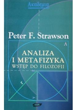 Analiza i metafizyka wstęp do filozofii
