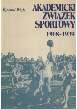 Akademicki związek sportowy 1908 1939 plus autograf Wyryka