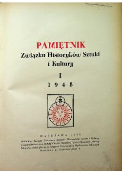 Pamiętnik Związku Historyków Sztuki i Kultury 1948 r