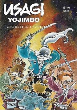 Usagi Yojimbo Złodzieje i szpiedzy
