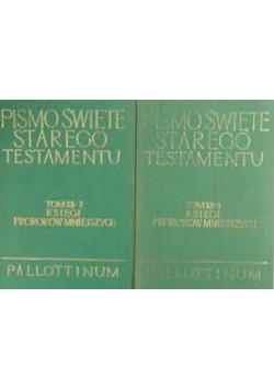 Pismo Święte Starego Testamentu Tom XII Księga Proroków Mniejszych 2 Części