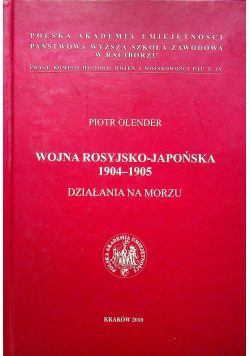 Wojna Rosyjsko Japońska 1904 - 1905 Działania na morzu