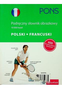 Podręczny słownik obrazkowy  Polski Francuski