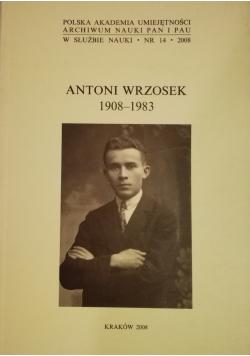 Antoni Wrzosek 1908 1983