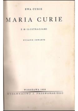 Maria Curie 1939 r