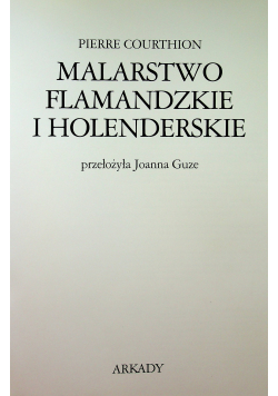 Malarstwo flamandzkie i holenderskie