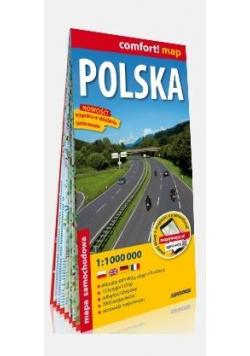 Comfort! map Polska 1:1000 000 mapa turystyczna
