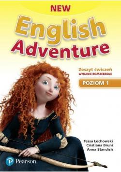 English Adventure New 1 WB wyd. roz. 2020 PEARSON