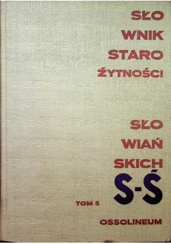 Słownik starożytności słowiańskich tom V