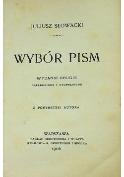 Wybór pism 1906 r.