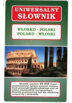 Uniwersalny słownik Włosko-Polski Polsko-Włoski