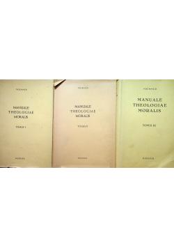 Manuale Theologiae Moralis 3 Tomy