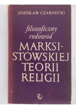 Filozoficzny rodowód marksistowskiej teorii religii