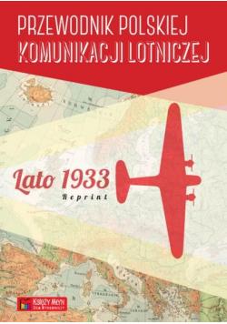 Przewodnik polskiej komunik. lotniczej - lato 1933