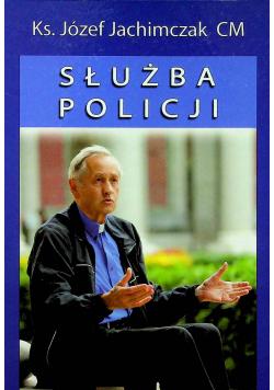 Służba policji