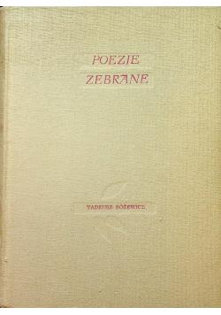 Różewicz Poezje zebrane