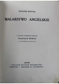 Malarstwo Angielskie 1913 r.