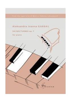 Six Nocturnes op. 7 na fortepian
