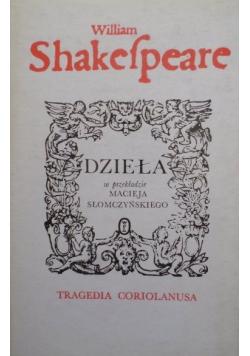Shakespeare Dzieła tragedia Coriolanusa