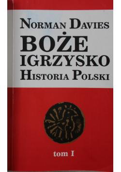 Boże Igrzysko Historia Polski Tom I