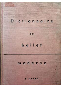 Dictionnaire du ballet moderne