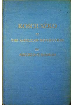 Kosciuszko in the American revolution