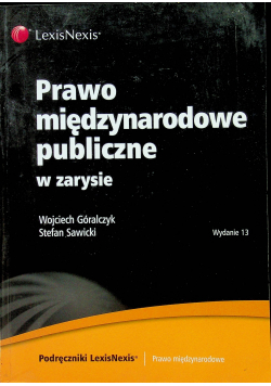 Prawo międzynarodowe publiczne w zarysie