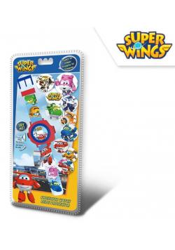 Zegarek elektroniczny z projektorem Super Wings