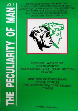 Tradycyjne i współczesne systemy wartości. Przeciwieństwo trzecie  Piękno i Brzydota Vol 7