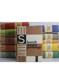 Słownik języka polskiego Tom od 1 do 11