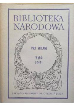 Verlaine Wybór poezji