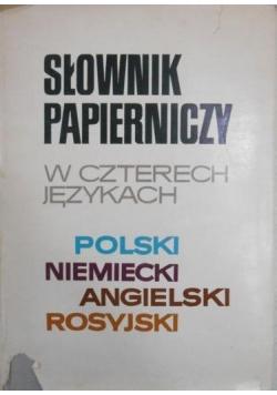 Słownik papierniczy w czterech językach