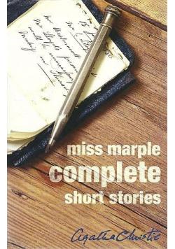 Miss Marple Complete Short Stories