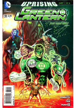 Uprising green lantern 31