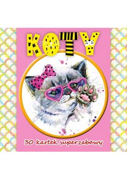 30 kartek superzabawy.Koty