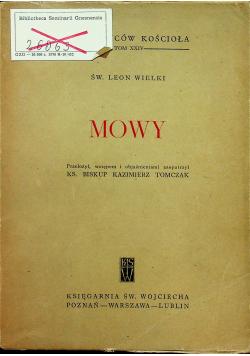 Leon Wielki Mowy