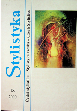 Stylistyka IX Stylistyka czeska