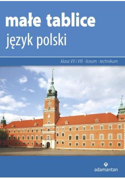 Małe tablice Język polski 2019