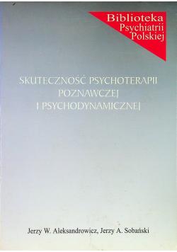Skuteczność psychoterapii poznawczej i psychodynamicznej