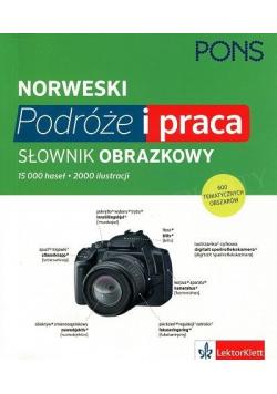 Norweski Podróże i praca Słownik obrazkowy