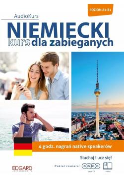 Niemiecki kurs dla zabieganych plus 4 płyty CD