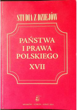 Studia z dziejów państwa i prawa polskiego XVIII