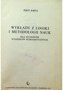 Wykłady z logiki i metodologii nauk