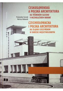Czechosłowacka i Polska Architektura