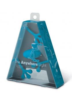 Anywhere Light - lampka do książki - niebieska
